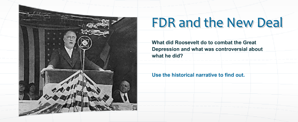 "the objectives of franklin roosevelts new deal program after the great depression Successes and failures of roosevelt's new the term"" new deal"" was mentioned by franklin delano over new deal's role in great depression still alive."