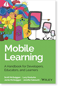 Learn more about our new book, Mobile Learning